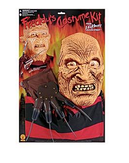Mens Freddy Krueger Adult Blister Kit