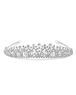 Jon Richard Diamante Crystal Tiara