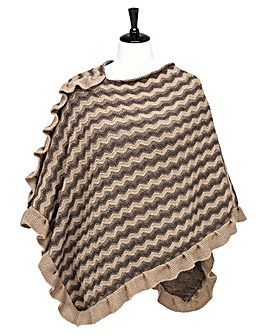 Joe Browns Perfect Frill Poncho