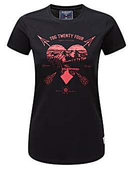 Tog24 Nicky Womens T-Shirt Arrow Heart