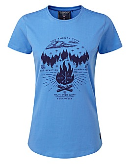 Tog24 Nicky Womens T-Shirt Camp Fire