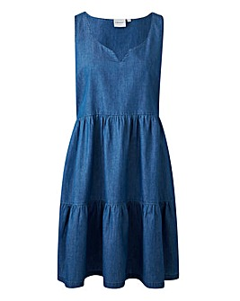 Junarose Denim Gypsy Dress
