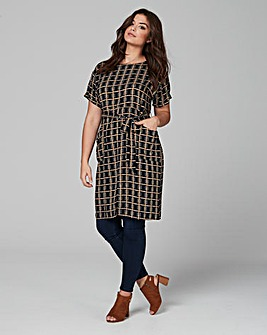 Ax Paris Printed Pocket Tunic