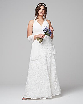 Gina Bacconi Chiffon Wedding Dress