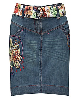 Joe Browns Mexicana Denim Skirt