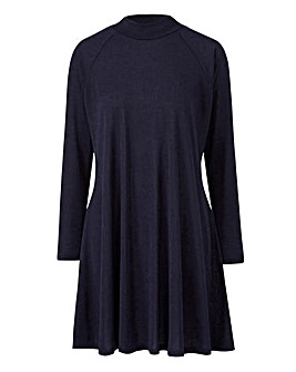 AX Paris Navy Swing Dress