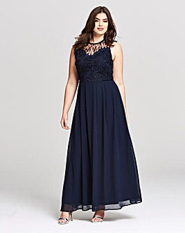 AX Paris Lace Detail Maxi Dress