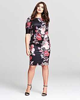AX Paris Floral Midi Dress