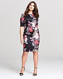 AX Paris Floral Midi Dress