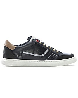 Daniel Penalta Leather Lace Up Trainer