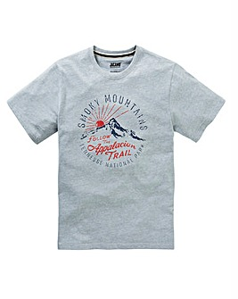 Jacamo Smoky Graphic T-Shirt Long