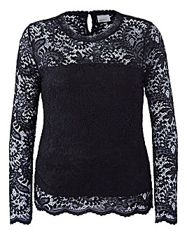 Vero Moda Long Sleeve Lace Top