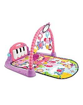 Fisher-Price Kick & Play Piano Gym- Pink