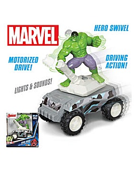Marvel Motorised Hero Rider Hulk