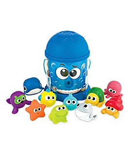 Set of 10 Squirter Bath Toys