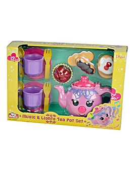 Music and Lights Teapot Playset