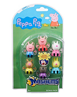 Mashems Peppa Pig 6 Pack