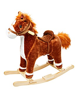Personalised Rocking Horse with Sounds