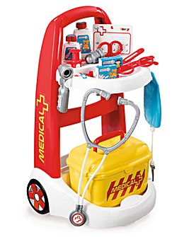 Smoby Medical Rescue Trolley