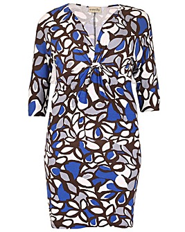 emily Print Front Print Dress