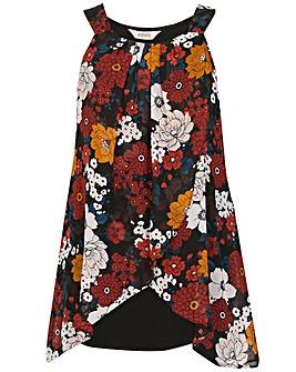 emily Layered Overlay Dress