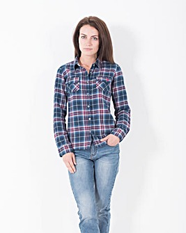Brakeburn Large Check Flannel Shirt