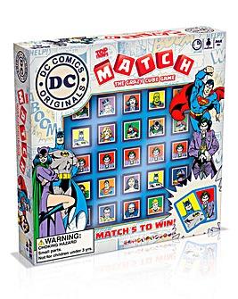 Match Game DC Comics