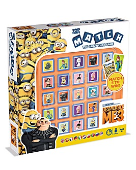 Match Game Despicable Me 3