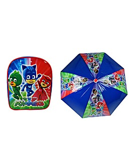 PJ Masks Backpack & Umbrella