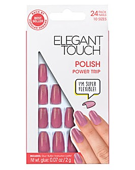 Elegant Touch Polished Nail Power Trip