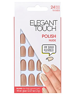 Elegant Touch Polished Core Nail Nude