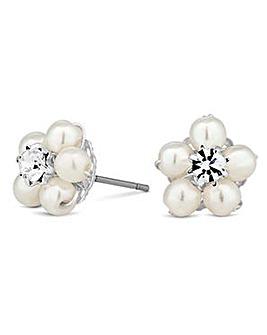 Alan Hannah pearl blossom wrap earring