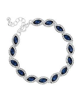 Jon Richard Blue crystal bracelet