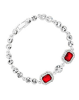 Jon Richard Red circle bracelet