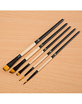 Rare Earth Watercolour Brushes Set of 5