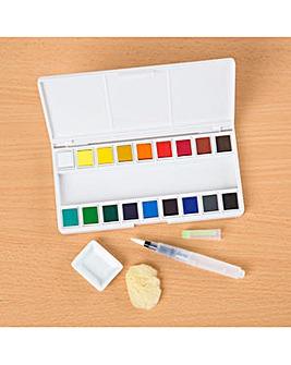 Watercolour Pallette - Set of 18