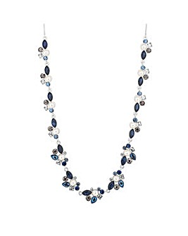 Alan Hannah pearl cluster necklace