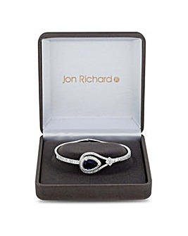 Jon Richard peardrop statement bracelet