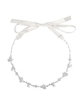 Alan Hannah floral cluster hair ribbon