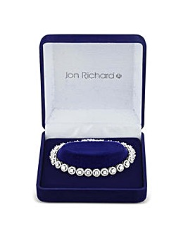 Jon Richard Silver circle bracelet