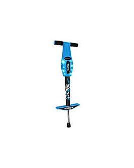 Elektra Flashing Pogo Stick - Blue.