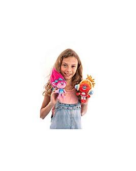 Dreamworks Trolls Soft Toy Key Ring