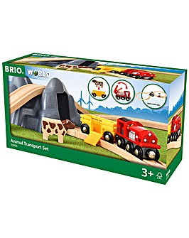 Brio Animal Transport Set