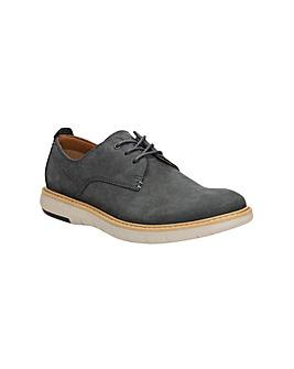 Clarks Flexton Plain Shoes
