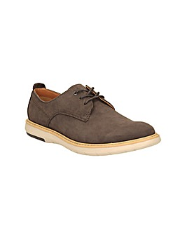 Clarks Flexton Plain Shoes