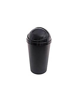 Curver 50L Bullet Bin - Black.