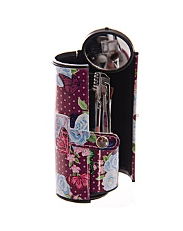 Floral Butterfly Chintz Make Up Kit