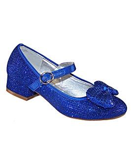 Sparkle Club Blue Heeled Shoes