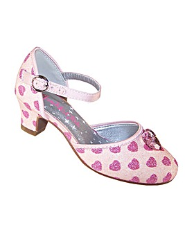 Sparkle Club Pink Heart Shoes