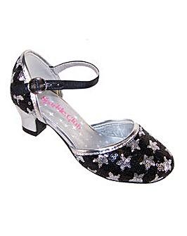 Sparkle Club Black Sequin Shoes